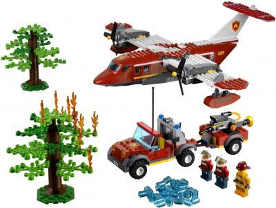 Конструктор Lego City Пожарный самолёт (4209) - общий вид