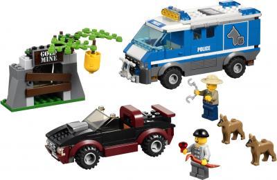 Сборная игрушка, конструктор Lego City Фургон для полицейских собак (4441) - общий вид