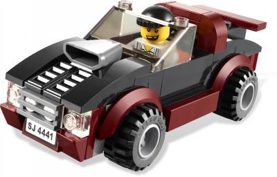 Сборная игрушка, конструктор Lego City Фургон для полицейских собак (4441) - машина преступника