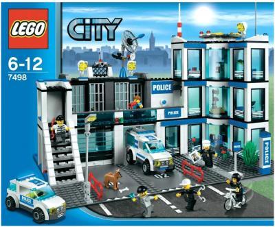 Конструктор Lego City Полицейский участок (7498) - упаковка