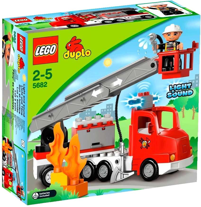 Duplo Пожарный грузовик (5682) 21vek.by 399000.000