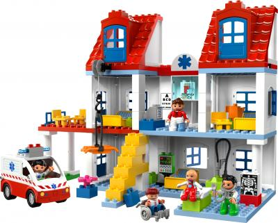 Конструктор Lego Duplo Большая городская больница (5795) - общий вид