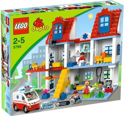 Конструктор Lego Duplo Большая городская больница (5795) - упаковка