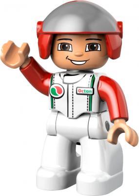 Конструктор Lego Duplo Быстрый пит-стоп (6143) - гонщик