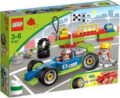 Конструктор Lego Duplo Быстрый пит-стоп (6143) - упаковка
