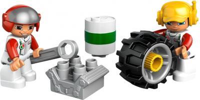Конструктор Lego Duplo Быстрый пит-стоп (6143) - замена колеса
