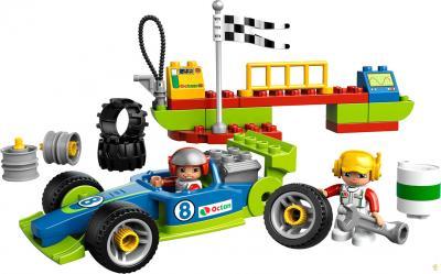 Конструктор Lego Duplo Быстрый пит-стоп (6143) - общий вид