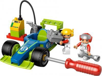 Конструктор Lego Duplo Быстрый пит-стоп (6143) - ремонтные работы