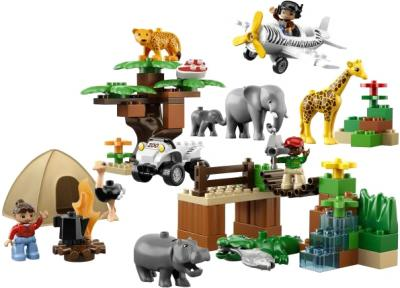 Конструктор Lego Duplo Фотосафари (6156) - общий вид