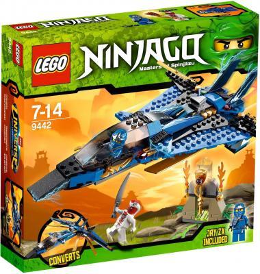 Конструктор Lego Ninjiago Джей и его штормовой истребитель (9442) - упаковка