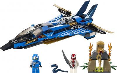 Конструктор Lego Ninjiago Джей и его штормовой истребитель (9442) - общий вид