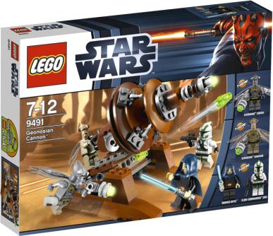 Конструктор Lego Star Wars Джеонозианская пушка (9491) - упаковка