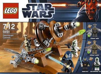 Конструктор Lego Star Wars Джеонозианская пушка (9491) - в коробке