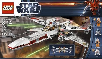 Конструктор Lego Star Wars Истребитель X-wing (9493) - упаковка