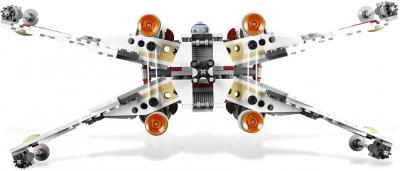 Конструктор Lego Star Wars Истребитель X-wing (9493) - вид истребителя сзади