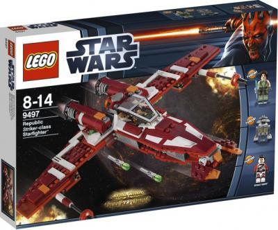 Конструктор Lego Star Wars Республиканский атакующий звёздный истребитель (9497) - упаковка