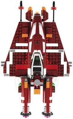 Конструктор Lego Star Wars Республиканский атакующий звёздный истребитель (9497) - вид истребителя сверху
