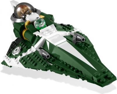 Конструктор Lego Star Wars Звездный истребитель джедая Саези Тиина (9498) - общий вид