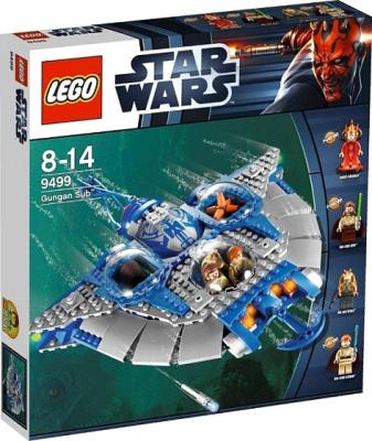 Конструктор Lego Star Wars Гунган Саб (9499) - в упаковке