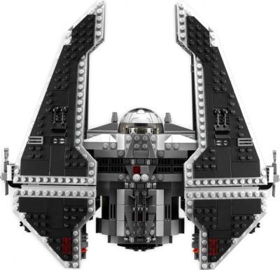"Конструктор Lego Star Wars Ситхский перехватчик класса ""Фурия"" (9500) - вид сверху"