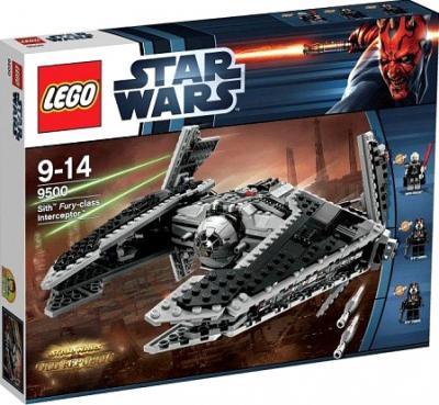 """Конструктор Lego Star Wars Ситхский перехватчик класса """"Фурия"""" (9500) - в упаковке"""