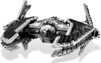 "Конструктор Lego Star Wars Ситхский перехватчик класса ""Фурия"" (9500) - общий вид"