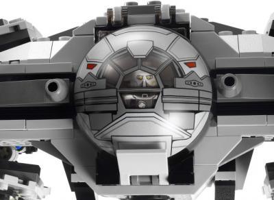"""Конструктор Lego Star Wars Ситхский перехватчик класса """"Фурия"""" (9500) - вид спереди"""