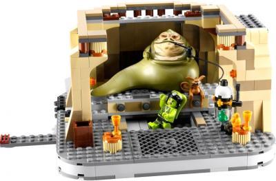 Конструктор Lego Star Wars Дворец Джаббы (9516) - дворец изнутри