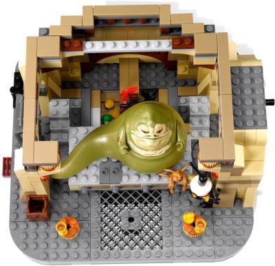 Конструктор Lego Star Wars Дворец Джаббы (9516) - вид сверху изнутри