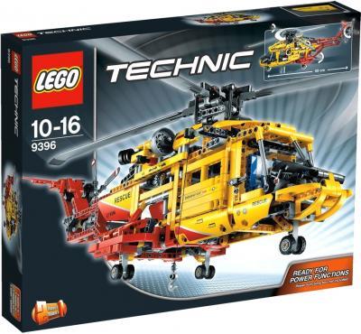Конструктор Lego Technic Вертолёт (9396) - упаковка