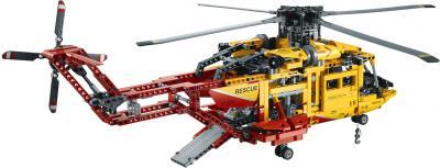 Конструктор Lego Technic Вертолёт (9396) - вид сзади