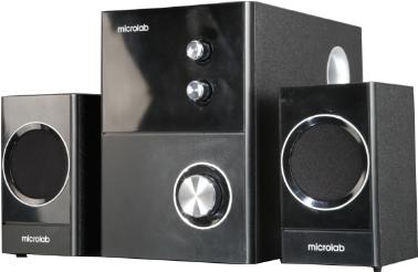 Мультимедиа акустика Microlab M 223 (черный) - общий вид