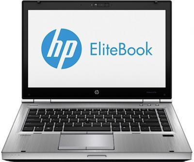 Ноутбук HP EliteBook 8470p (B6Q17EA) - фронтальный вид