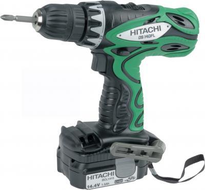 Профессиональный шуруповерт Hitachi DS14DFL (H-157488) - общий вид