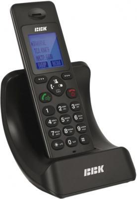 Беспроводной телефон BBK BKD-821 RU Black - общий вид