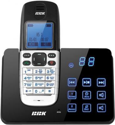 Беспроводной телефон BBK BKD-831R RU (Black) - общий вид