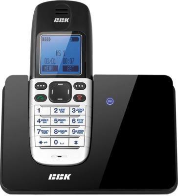 Беспроводной телефон BBK BKD-832 RU Black - общий вид