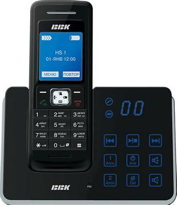Беспроводной телефон BBK BKD-833R RU  (Black) - общий вид