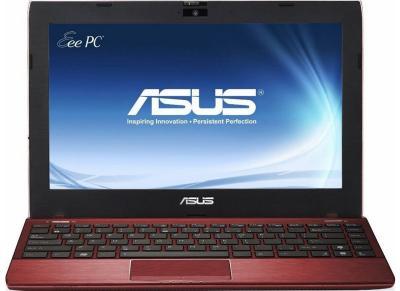 Ноутбук Asus Eee PC 1225B-RED052M - фронтальный вид