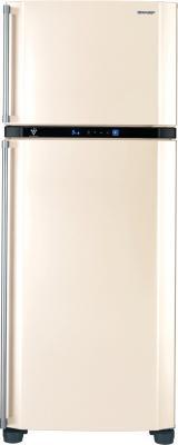 Холодильник с морозильником Sharp SJ-PT481RB - общий вид