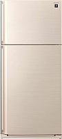 Холодильник с морозильником Sharp SJ-SC55PVBE -