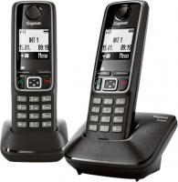 Беспроводной телефон Gigaset A420 Duo (Black) -