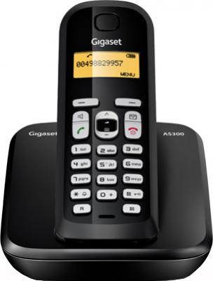 Беспроводной телефон Gigaset AS300 - вид спереди