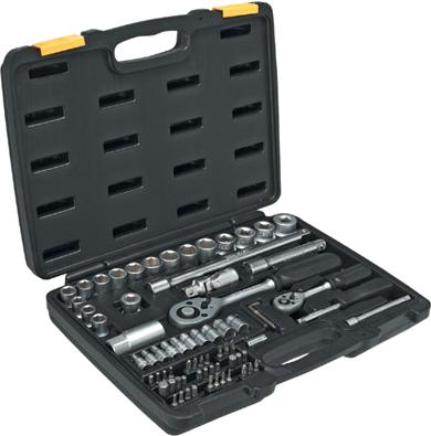 Набор ручного инструмента Topex A-38D680 - общий вид