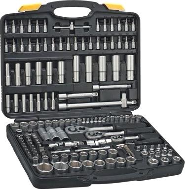 Универсальный набор инструментов Topex A-38D687 (150 предметов) - общий вид
