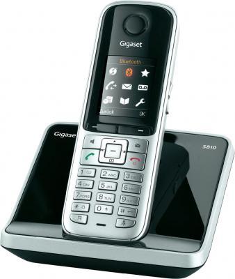 Беспроводной телефон Gigaset S810 Gray - общий вид