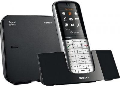 Беспроводной телефон Gigaset SL400A Metal - общий вид