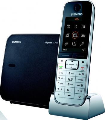 Беспроводной телефон Gigaset SL780 Metal-Black - общий вид