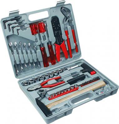 Универсальный набор инструментов TopTools A-38D210 (100 предметов) - общий вид