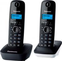 Беспроводной телефон Panasonic KX-TG1612 (серо-белый) -